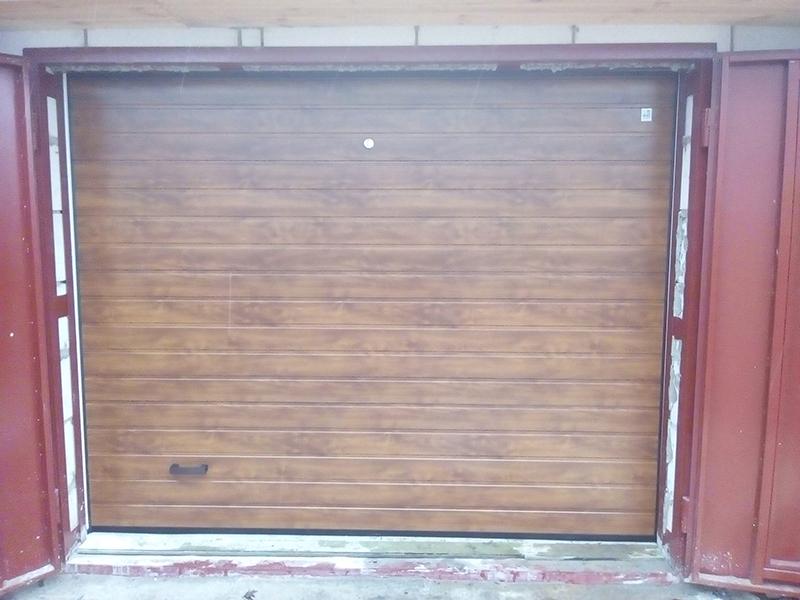 Секционные ворота